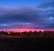 The Line of Light along Hadrian's Wall