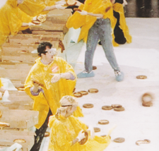 The Custard Pie Throwing World Record for Fun Planet