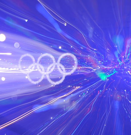 An Olympian lightshow for London 2012